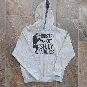 Shirts - Ministry of Silly Walks Unisex Hoodie